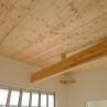 無垢貼りの天井