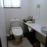 トイレはしっかりカウンター付